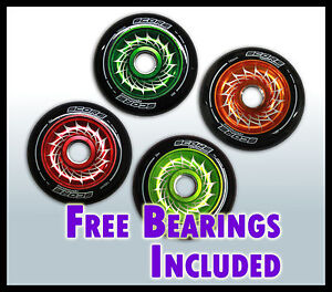 Scooter Parts - Metal Core Wheel 100mm 88A *free bearings and spacer*pre-cut*