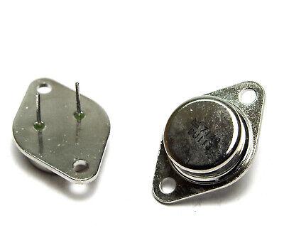 Power NPN 4x Leistungs-Transistor BD124 // BD 124 VV9 NOS Audio Endstufe