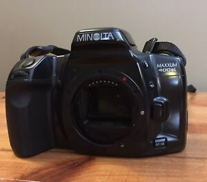 Minolta Dynax 500si 35 mm film camera
