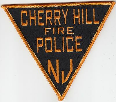 CHERRY HILL FIRE POLICE PATCH NEW JERSEY NJ