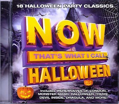 NOW THAT'S WHAT I CALL HALLOWEEN: 18 HOLIDAY PARTY CLASSICS BY ORIGINAL ARTISTS! - Halloween Party Music Original Artists