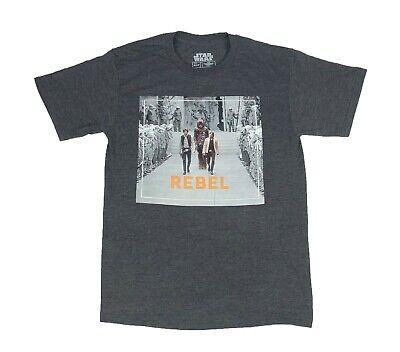 Han Solo Shirt (Star Wars Swagging Rebels Luke Skywalker Han Solo Chewbacca Mens T shirt)