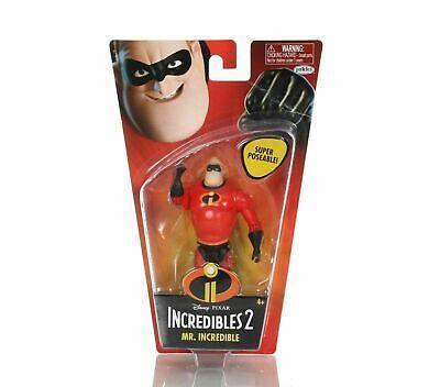 Incredibles 2 Disney Pixar Mr. Incredible Super Poseable Action Figure New