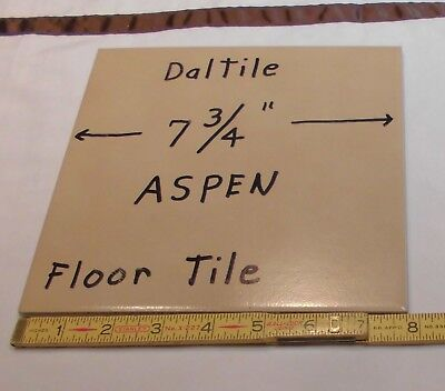 Discontinued Daltile *Light Brown-Aspen* Ceramic Floor Tile  8