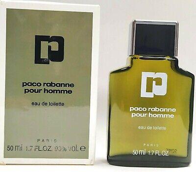 VINTAGE PACO RABANNE POUR HOMME 50 ML EAU DE TOILETTE SPLASH
