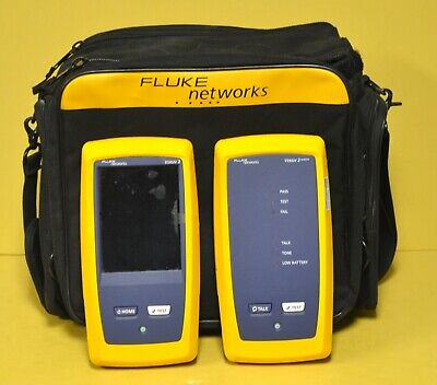 Fluke Networks Dsx-8000 Versiv 2 Cat6a Cat8 Lan Cable Certifier Dsx-8000 Dsx8000