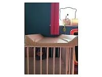 Toys R Us Over Cot / Cot top Baby Changing Table Mat
