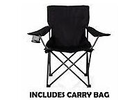 New Camping Beach Fold Up Camp Festival Seat Fishing Chair with cover
