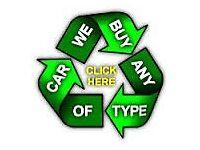 WE WANT YOUR CARS VANS MINIBUSES TIPPERS 4X4 MPV MOTORBIKES QUADS NO MOT MOT FAILURE SCRAP A1 A4