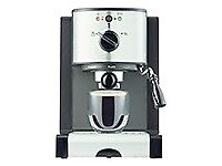 NEW HOME ESPRESSO COFFEE MACHINE WITH MILK FROTHER RRP£60 our price £39.99