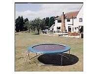12ft Trampoline, Less than 3 Months Old and in Excellent Condition