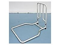 Disability handrail for bed
