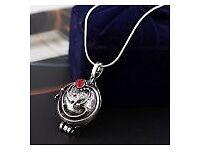 Fashion Vintage Vampire Diaries Elena Crystal Charm Necklace