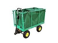 Heavy Duty Medium Size Garden Trolley Cart