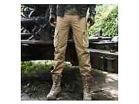 "mens army / combat / cargo trousers brand new with tags 30 - Slim-Fit 32"" Waist; 30"" Inside Leg"