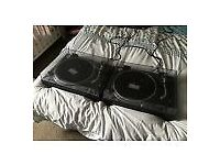 Technics SL1210 Mk2 Turntable x 2 Great Condition