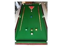Snooker Table Michandra hand made. 6ft x3ft folding table