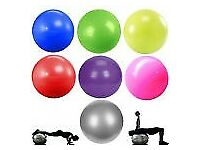 Red Yoga Pilates Aerobic Gymnastic Red Swiss Ball Ab Abdominal Gym Workout Training + Pump