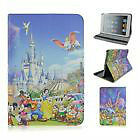 New Cartoon Disney Folio Stand PU Leather tablet case cover for