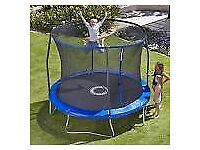 10 foot Trampoline with net guard in excellent condition nearly new