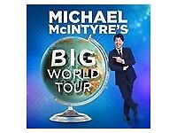 1 x Michael McIntyre Ticket @ Bham Arena (Sat 12/05/18 @ 8pm) - Face Value ONLY £40!