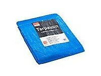 large Tarpoulin B&Q plastic sheet like new