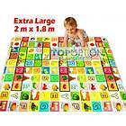 Alphabet & Animals Baby Kids Play Mat XL Double Sided 10mm Thick Everton Park Brisbane North West Preview