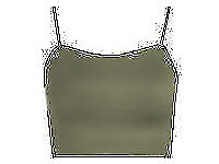 2 Womens Strappy Sleeveless Ladies Camisole Bralet Crop Stretch Vest Top *NEW* £4 for the set
