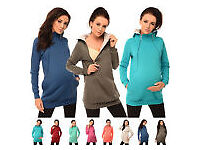 Maternity 2in1 Pregnancy and Discreet Nursing Hoodie with Zips (worth 22 pounds) for only 10 pounds