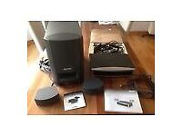 BOSE 321 SERIES 111 HOME CINEMA SYSTEM-PLUS 2 EXTRA BOSE SPEAKERS