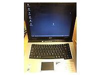"Acer TravelMate 2413LCi 15"" 40GB, Intel Celeron M, 1.5GHz, 1GB Notebook"