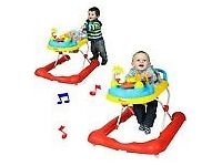 RED KITE FRUTTI BABY GO ROUND WALKABOUT MUSICAL BABY WALKER