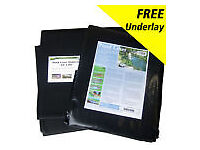 POND LINER 5mX5m WITH UNDERLAY AND GUARANTEE
