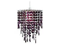 purple beaded drops, new unused, have three £7. each