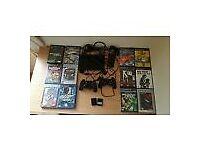 PS2 Black Slimline and games bundles