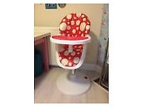 cosatto 3sixti high chair in good condition