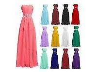 Brand New - still with tags - red chiffon maxi dress