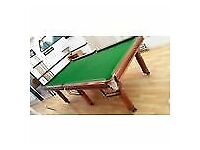 Snooker Table Pro Slate bed 8 x 5 by Spen very rare