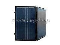 120w suitcase portable solar panel