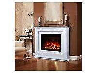 Fire surround, for an electric fire. Fire not included, only surround.