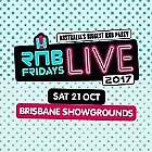 RnB Fridays Live GOLD tickets x2 - $200 for both