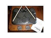Digital Drum Kit table top practice kit recorder