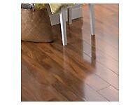 Dolce Walnut Effect Laminate Flooring 1.19 m² Pack 17 packs
