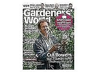 Gardeners World Magazimes £5 for 12