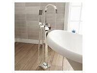 free standing over bath tap