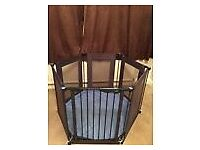 Child Playpen, Safety gate, Room divider - Soft mat included