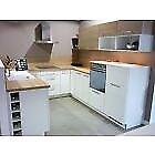 Modern Nolte Lux (ex display) German-made kitchen + appliances- bargain!