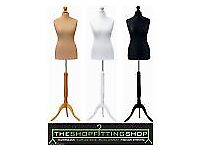 Female Dressmakers Mannequin Dummy Cream 8/10