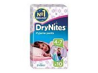 Huggies DryNites Girls Pyjama Pants - Age 4-7 (17-30 kg)