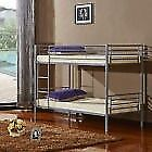 Lovely metal bunk bed 2 x single